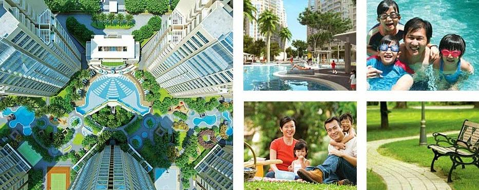 Tổ hợp tiện ích tại chung cư Hanoi Aqua Central 44 Yên Phụ