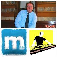 composizione foto DJSTEVEBi, logo Musicland 2.0 e ONUTGMS