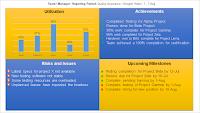 Team Status Report PPT Template