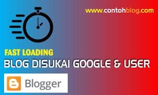 blog fast loading