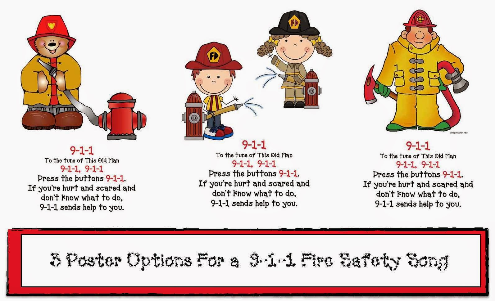 Classroom Freebies Fire Safety 911 Posters And Song