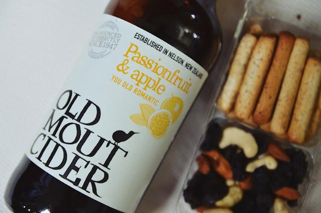 old mout cider passionfruit