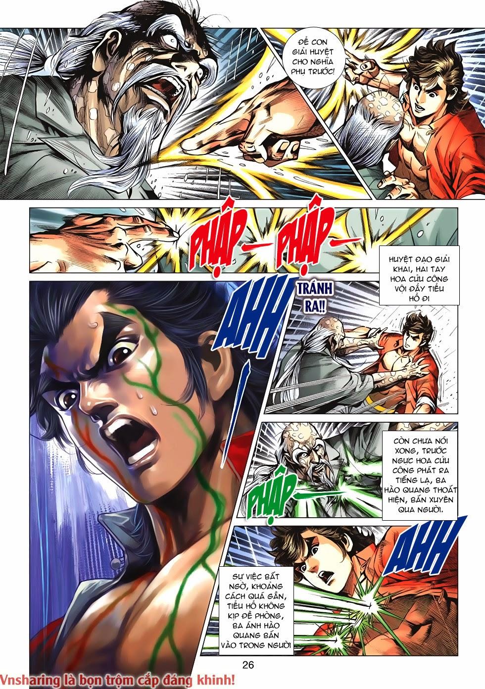 Tân Tác Long Hổ Môn Chap 606 page 25 - Truyentranhaz.net
