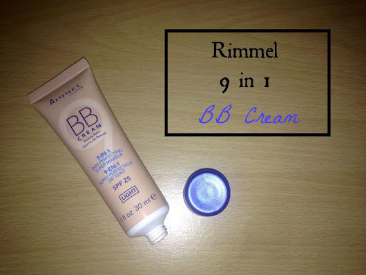 Rimmel 9 in 1 BB Cream ~ Rachael O