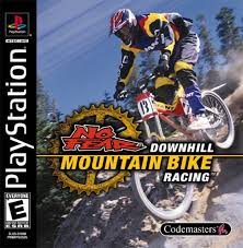 No Fear Downhill Mountain Bike Racing - PS1 - ISOs Download