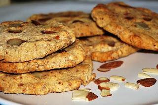 Cookies de Amêndoas Vegano