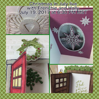 stampin'Up! Christmas in July with Frenchie