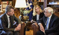 Παυλόπουλος: Προϋπόθεση για ένταξη στην Ε.Ε. ο σεβασμός των ευρωπαϊκών συνόρων