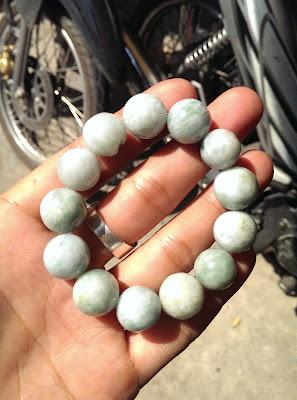 Chuỗi đeo tay đá Cẩm Thạch thiên nhiên