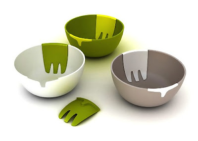 Modern Salad Utensils and Creative Salad Utensil Designs (15) 14