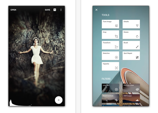 [Descargar] Snapseed, el editor de fotos de Google para iOS y Android