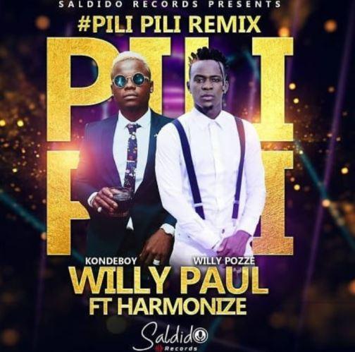 Willy Paul Msafi Ft Harmonize - Pili Pili (Remix)