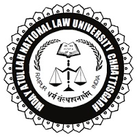 Hidayatullah National Law University, Naya Raipur Recruitment for the post of Library Attendant