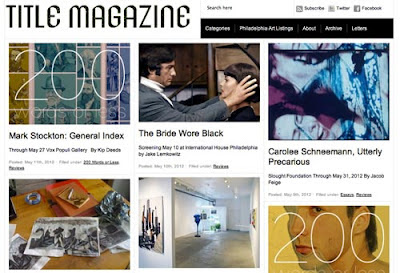 Title Magazine's home page