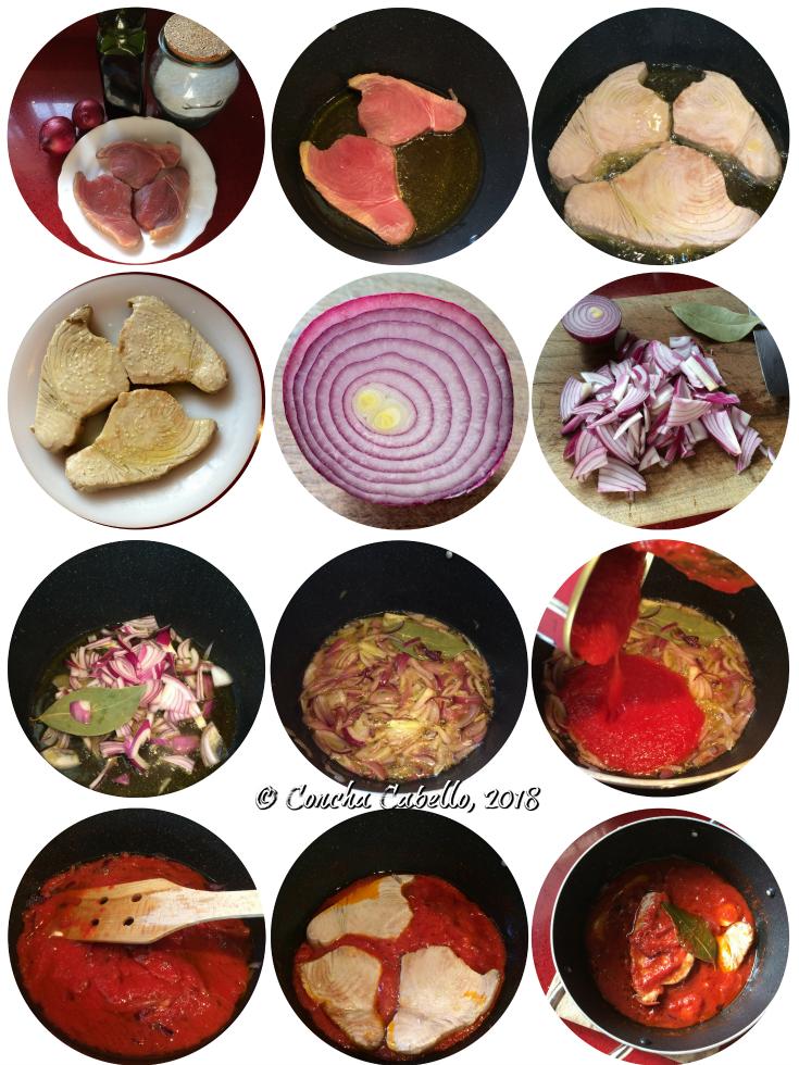 atún-salsa-tomate-pasos
