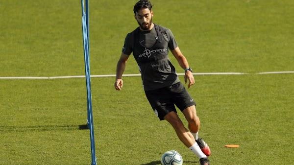 """Juande - Málaga -: """"Estoy muy contento por haber debutado este año"""""""
