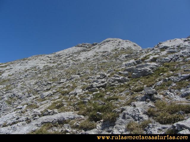 Mirador de Ordiales y Cotalba: Cercanías de la cima del Cotalba