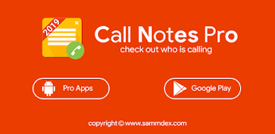 Call Notes Pro check out who is calling