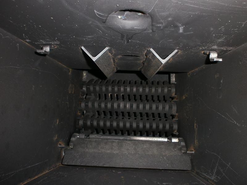 колосники механической топки Bosch. вид сверху