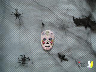 broche-fieltro-calavera-mejicana-mexicana-elbosquedelulu-halloween-felt-díadelosmuertos-hechoamanoaparati