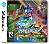Megaman Star Force 2: Zerker X Ninja, nds, español, mega