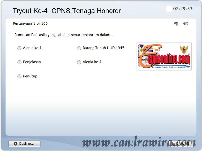 Download Soal Soal Tes Honorer Cpns K2 2014 Pasukan Gratis