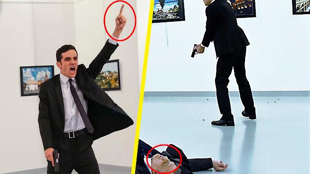 حقيقة الشاب التركي الذي نفذ مقتل السفير الروسي في أنقره ● شاهد قبل الحذف
