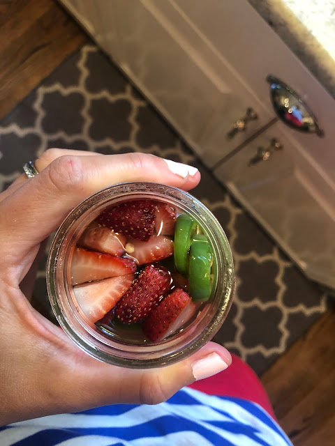 peace. love. & good food.: Strawberry Jalapeno Simple Syrup
