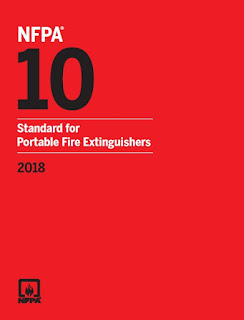 NFPA 10 Standard for Portable Fire Extinguishers;portable fire extinguishers ;Class D extinguishing agents