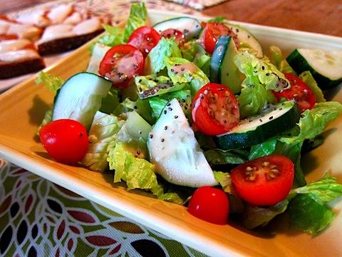 Salad chia giúp cân hiệu quả