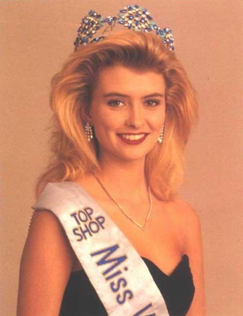 Miss World Of 1988 – Linda Pétursdóttir
