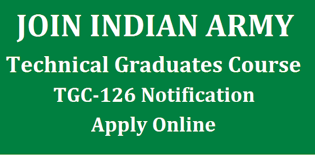 Admission, Indian army, Technical Graduate Course, TGC, Army Notifications, joinindianarmy, Notifications, Central Govt Notification