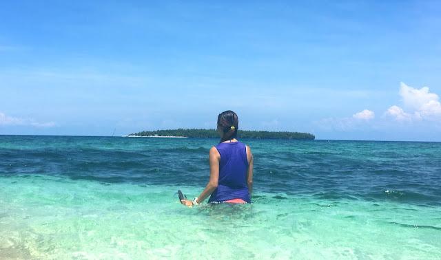 Apid Island - a view from Digyo Island, Cuatro Islas Leyte