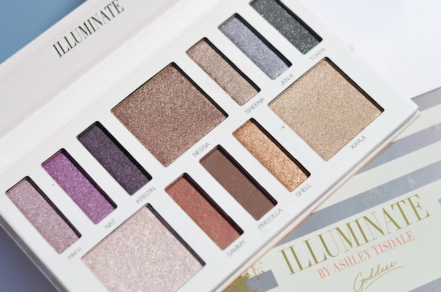 bhcosmetics Illuminate by Ashley Tisdale 12 Color Eyeshadow Palette - Goddess