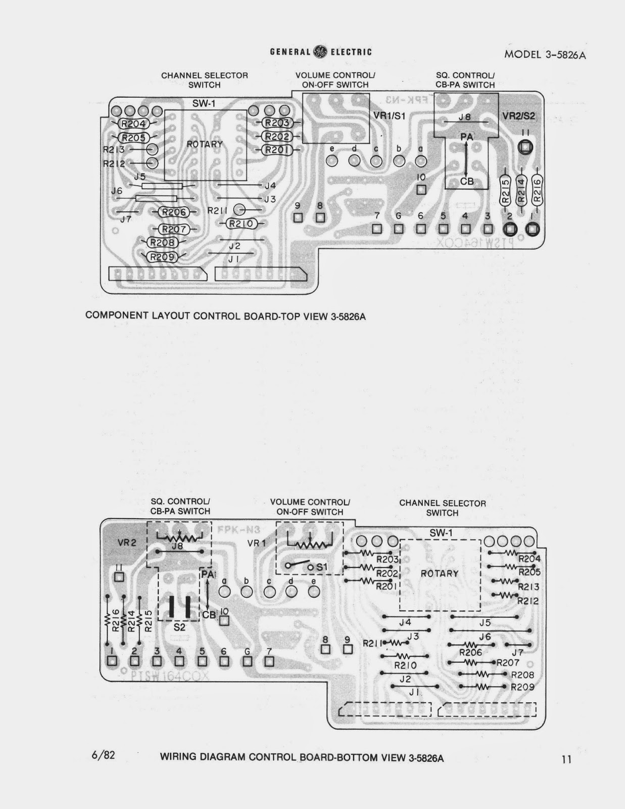 91NR712: General Electric GE 3-5826A Service Manual