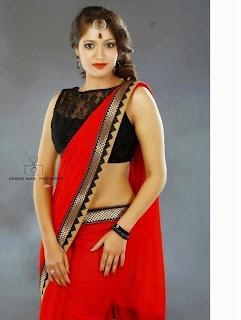 Meghana Raj Hot Navel
