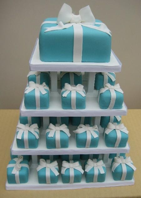 Cakechannel Com World Of Cakes Tiffany Blue Mini