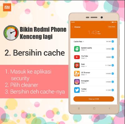 Cara Mempercepat Ponsel Xiaomi Redmi