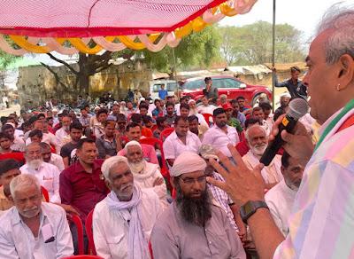 Dr Sanjay Singh Ask Public Support For Election 2019 Uttar Pradesh