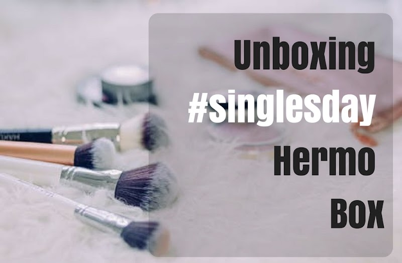 Unboxing #singlesday Hermo Box