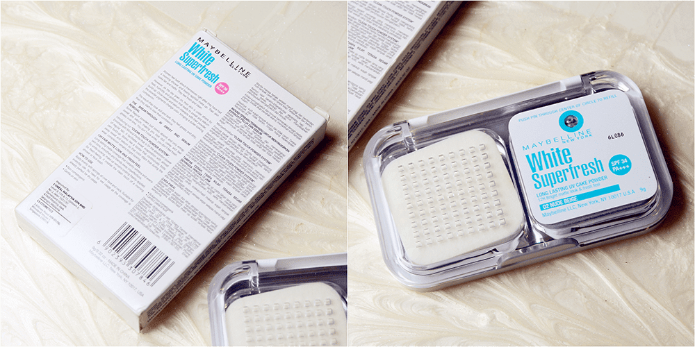 Maybelline White Superfresh Cake Powder Review Indonesia