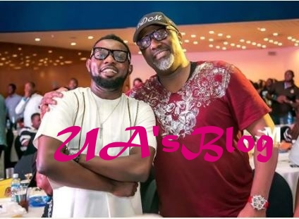 Check Out Senator Dino Malaye's Swag As He Enjoys His Night Out With AY And RMD