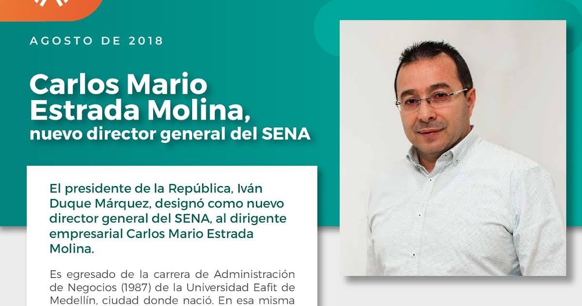 SENA - Centro Nacional de Hotelería, Turismo y Alimentos: Nuevo Director  General del Sena