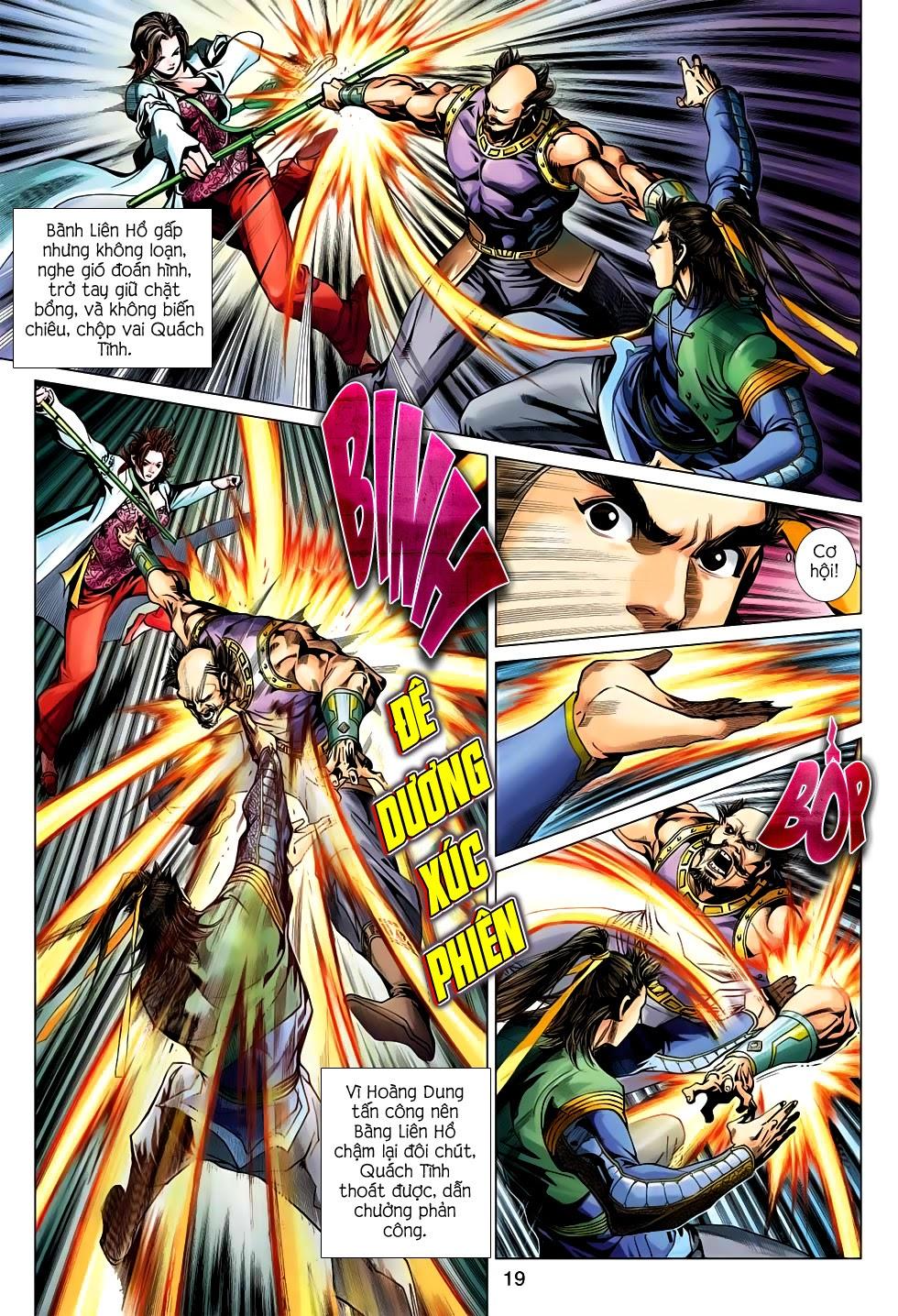 Anh Hùng Xạ Điêu anh hùng xạ đêu chap 56: tuyệt tình vô nghĩa lãnh huyết ác niệm trang 19