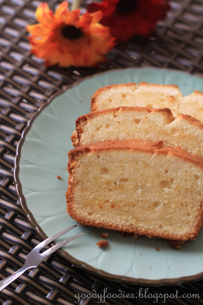 Madeira Cake Recipe With Vegetable Oil
