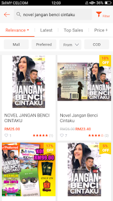 Beli novel online