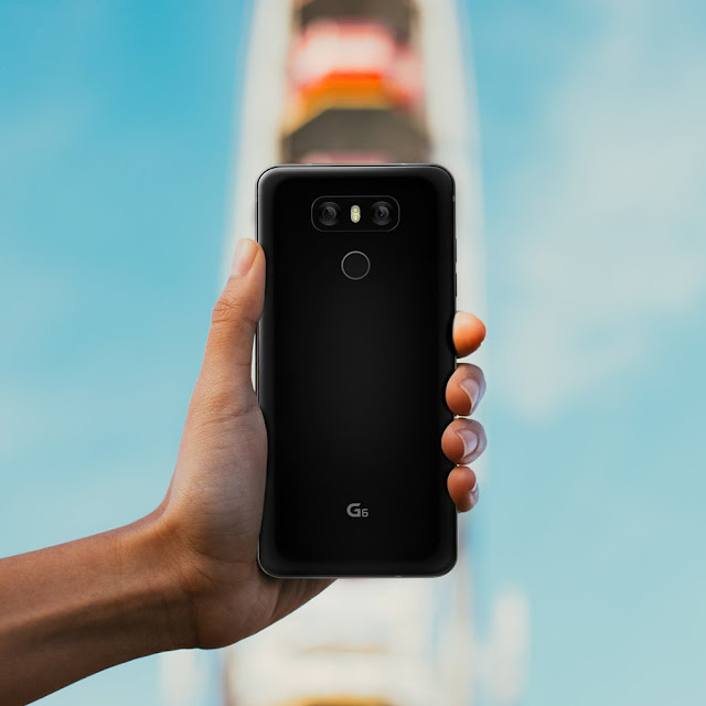 LG G6 is Official with 5.7-Inch QHD+ Display, Dual Camera, Snapdragon 821 and More