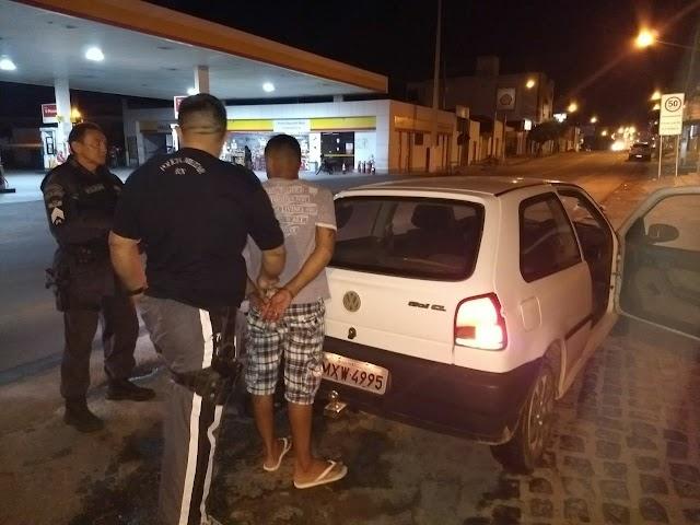 Detento foge do CDP de Pau dos Ferros e é recapturado pela PM de São Francisco do Oeste