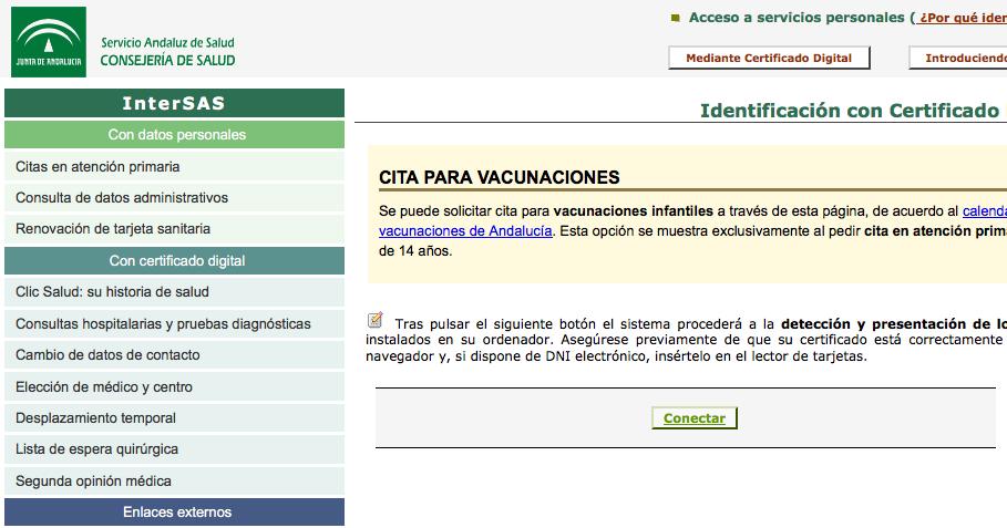 El diario de rociomglez92 privacidad anonimato y certificado digital - Para pedir cita para el medico de cabecera ...