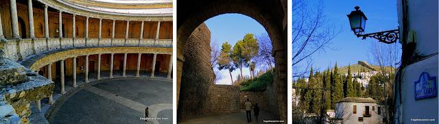 Atrações gratuitas na Alhambra de Granada: Palácio de Carlos V e a Custa del Rey Chico
